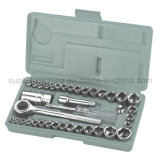 "Cheap 40 PCS 1/4"" and 3/8"" Dr. DIY Socket Wrench Set (120040)"