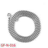 High Quality Fashion Stainless Steel Box Chain Necklace