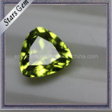 Beautiful Trilliant Cut Natural Semi-Precious Peridot Stones