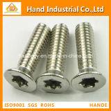 Manufacturing Torx Csk Head Security Machine Screw