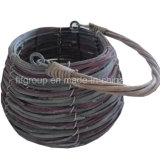 Customized Eco-Friendly Unique Outdoor Willow Decorative Flowerpot with Handle