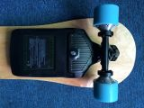 Electric Skateboard with Carried Battery