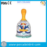 Religious Style Hand-Painted Decorative Ceramic Bell