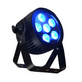 Mini Slim Parcan RGBW 4in1 LED PAR Light with Powercon DMX Disco, Party, Stage Light