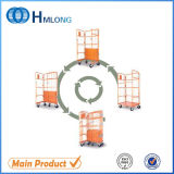Warehouse Wire Storage Metal Folding Roll Cage