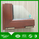 High Quality Aluminum Wood Compand Window for Hotel Using