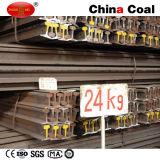U71mn 24kg Heavy Steel Rail Manufacturer