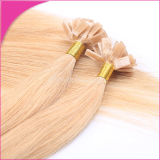 Ash Blond 1g/ Strand Silky Straight Pre-Glued Human Hair Extensions