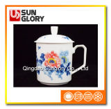 Bone China Cap Cup with Cover of GB019