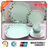 Chinese Wholesale Square Porcelain Dinner Plate