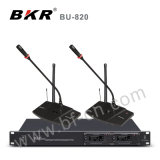 Two Channel UHF Pll Wireless Conference System