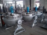 Food Sanitary Stainless Steel Tilting Type Steam Cooking Pot