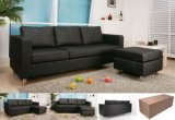 Highly Competitive Leather Corner Sofa (B027)