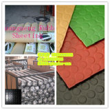 Fire-Resistant Belind Tile Rubber Flooring, Hospital Rubber Flooring