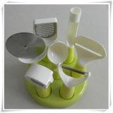 Kitchen Utensil Ice Cream Scoop with Stand (VK15016)