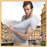 Wholesale Plain Blank Round Neck Quatity Cotton T-Shirt for Men (xy20230)