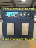 Aluminum Clad Oak Wooden Casement Windows