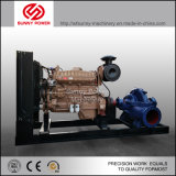 12inch Diesel Water Pump for Waste Water Discharge with Trailer