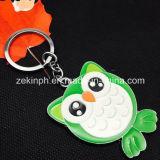 Custom Cute Animal Shape Metal Key Ring Supplier