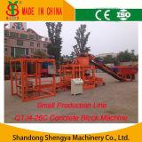 Automatic Concrete Hollow Block Making Machine (QTJ4-26C)