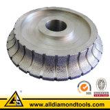 Segmented Vacuum Brazed Profile Wheel for Marble Granite Concrete