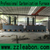 Complete Coal Briquette Making Line with Carbonizing Process and Drying