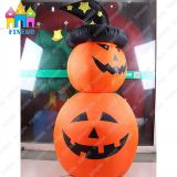 2016 Hot-Sell Halloween Party Decorative Inflatable Pumpkin Lamp LED Lantern