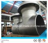 A234wpb Butt Weld Carbon Steel T-Strainer Valve