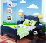 Children Beds European Style Beds Solid Wood Beds (M-X1035)