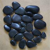 Black Color River Pebble Stone