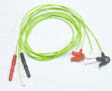 3 Leads Leadwires for ECG Trunk Cable Children Cllip