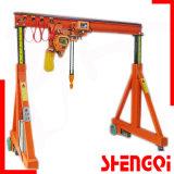 Manual Gantry Crane Wide Application Crane No Rail