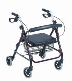 Aluminum Multi-Functional Walking Aid Rollator Elderly Rollator Disabled People Rollator