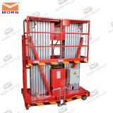10m Double Mast Hydraulic Aluminum Lift Platform