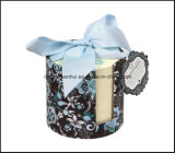 Office Supply Note Pad Memo Pad with Paper Holder and Ribbon