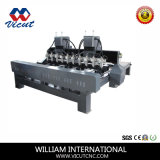 Cylinder Woodworking CNC Router Machine with 8 Rotaries (VCT-3230FR-2Z-10H)