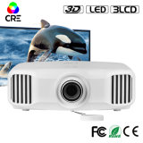 3LCD High Brightness Home Theater Using LED Projector