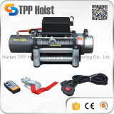 High Quality 10000lbs 12V 24V Mini Car Electric Winch with 4-Way Roller Price for ATV UTV Vehicle