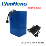 High Power 72V 2800W Lithium Battery 72V 25ah Ebike Battery 72V Battery Pack Use 3.7V 5.0ah 26650 Cell 40A BMS and 2A Charger