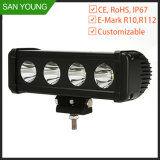 CREE 10W LED Driving Light Bar for Car Offroad