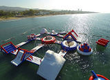 Outdoor Exciting Water Games, High Quality PVC Inflatable Water Park