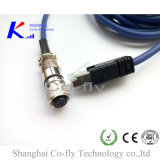 2/3/4/5/6/8/12/17 Pins Female Electrical Connector with Male RJ45 Adapter