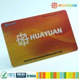 UHF RFID smart Card + MIFARE Classic 1K PVC card