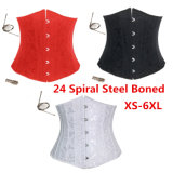 24 Steel Boned Women Slimming Sexy Waist Trainer Body Corset
