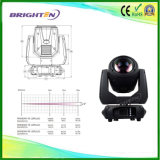 Powerful Sharpy 10r Osram 280W LED Moving Head Beam Lights on Satge