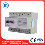 Three Phase 3 Wire/4 Wire DIN Guide Rail Electric Energy Meter