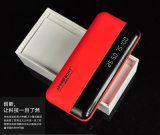 Fashion 9000mAh Digital Display Portable Power Bank Power Charger for Android/iPhone