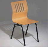Good Quality Restaurant Use Bentwood Steel Chair
