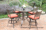 Hot Cast Aluminum 5 PC High Dining Garden Set Furniture