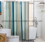 100% Polyester Printed Waterproof Shower Curtain